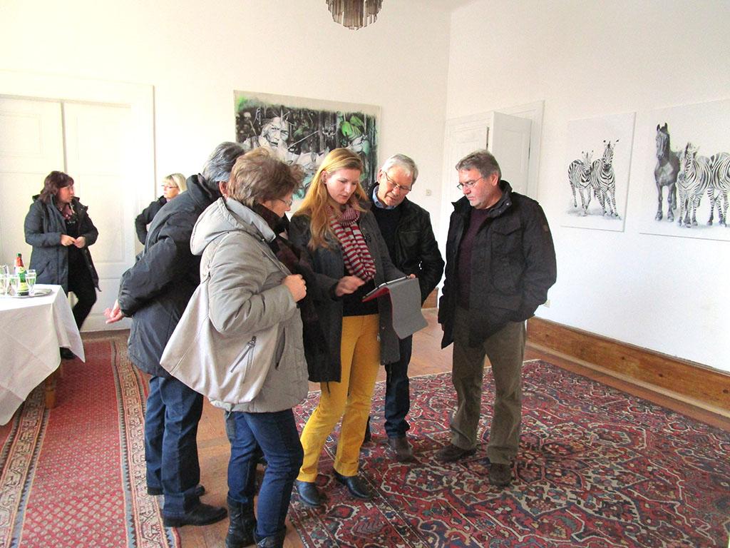 Ausstellung auf der Veltheimsburg