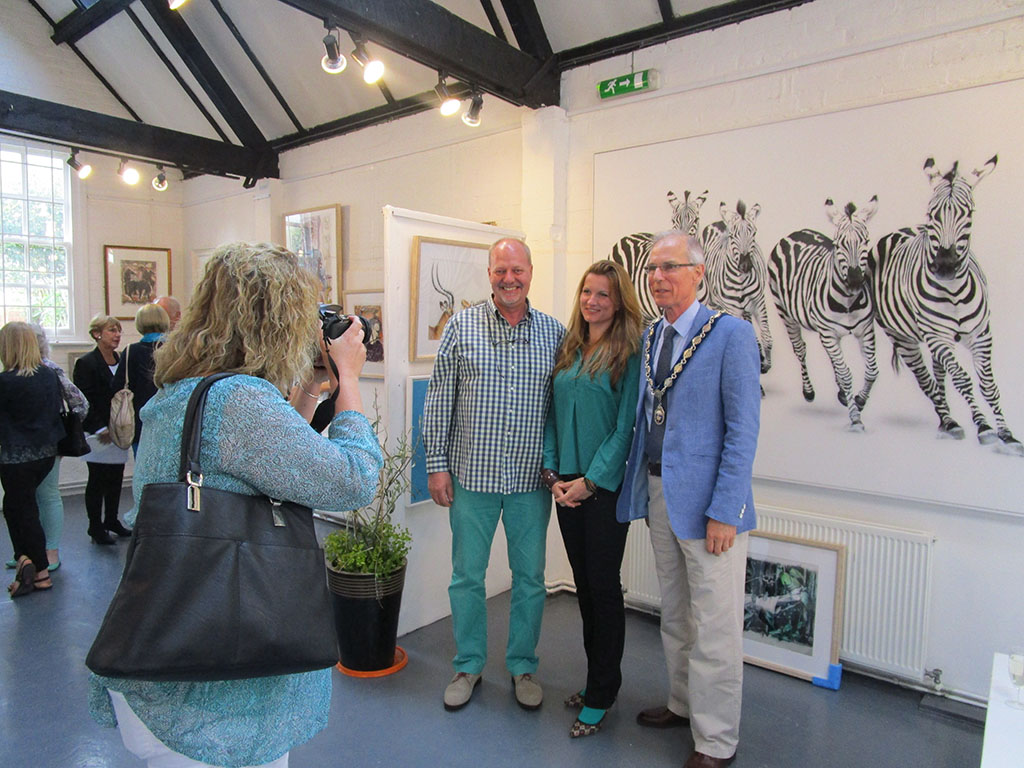 "Ausstellung ""LIFE in contrasts"", Henley on Thames"